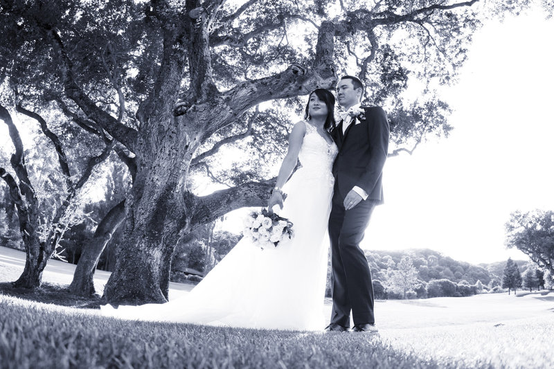 Marin Country club wedding, country club wedding, golf course wedding