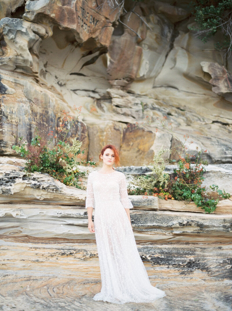 Sydney Fine Art Film Wedding Photographer Sheri McMahon - Sydney NSW Australia Beach Wedding Inspiration-00007