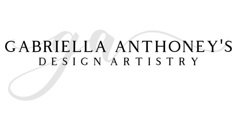 Gabriella Anthoney's Design Artistry Logo 2020