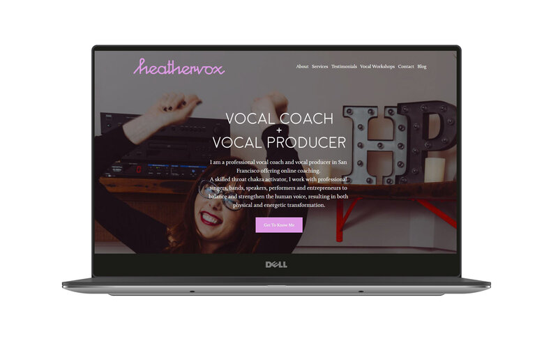 SEO optimization example for vocal coach