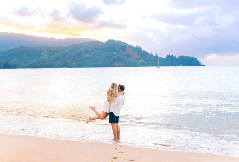 Hanalei Bay wedding photographer