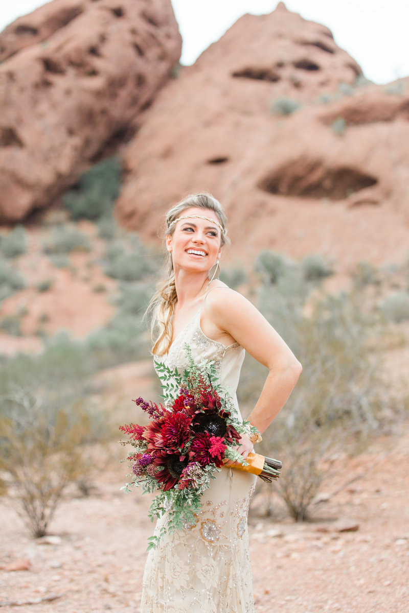 Arizona Bride Bohemian Vibes