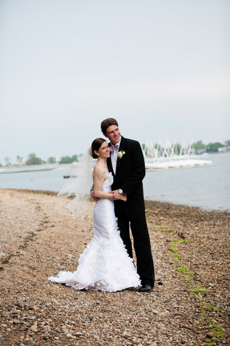 Kate spade inspired wedding at The Inn at Longshore in Westport, CT