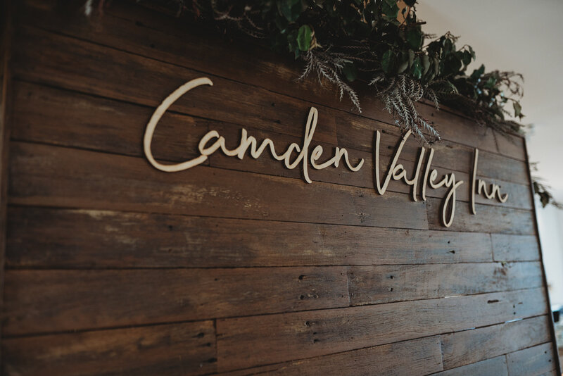 Camden Valley Inn Weddings