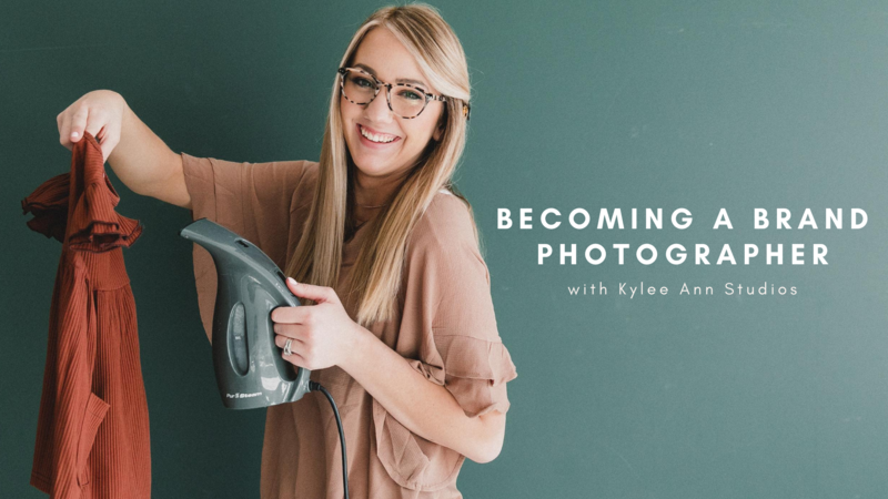 BECOMING A BRAND PHOTOGRAPHER
