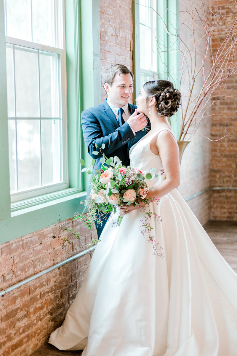 green navy and peach inspired wedding nepa pennylvania wedding photographer (54 of 68)