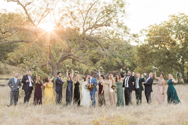 Camp-Lucy-Wedding-Bridal-Party