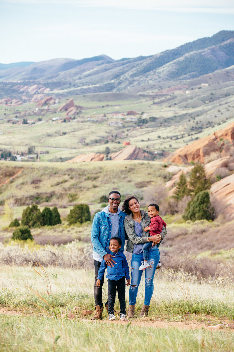 Red Rocks Family Portraits Towers-3