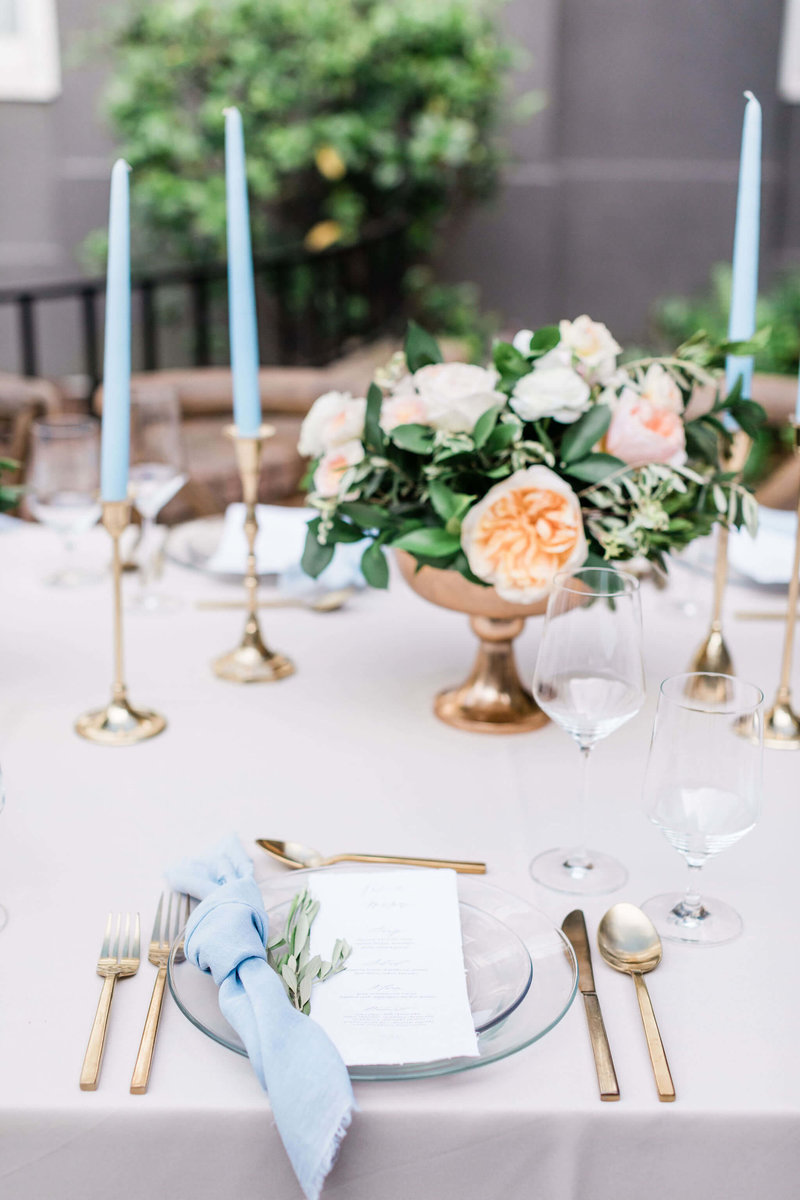Wedding Reception at The Brice Hotel by Apt. B Photography
