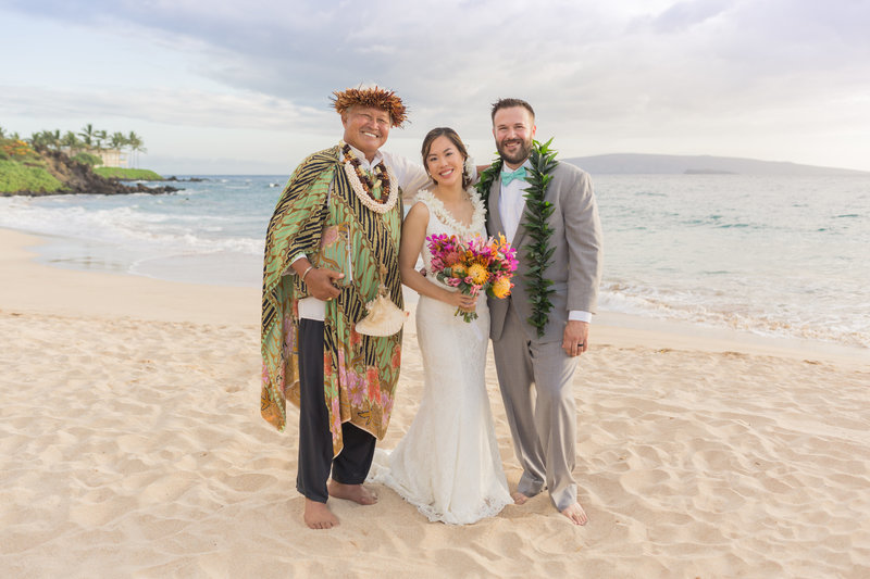 Maui Officiant Richardo Hanako'o