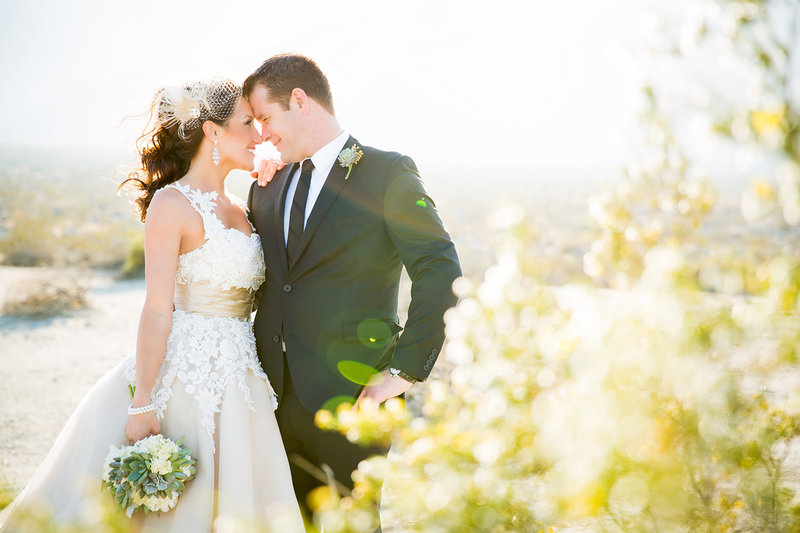 Los Willows wedding photos beautiful couple outdoor