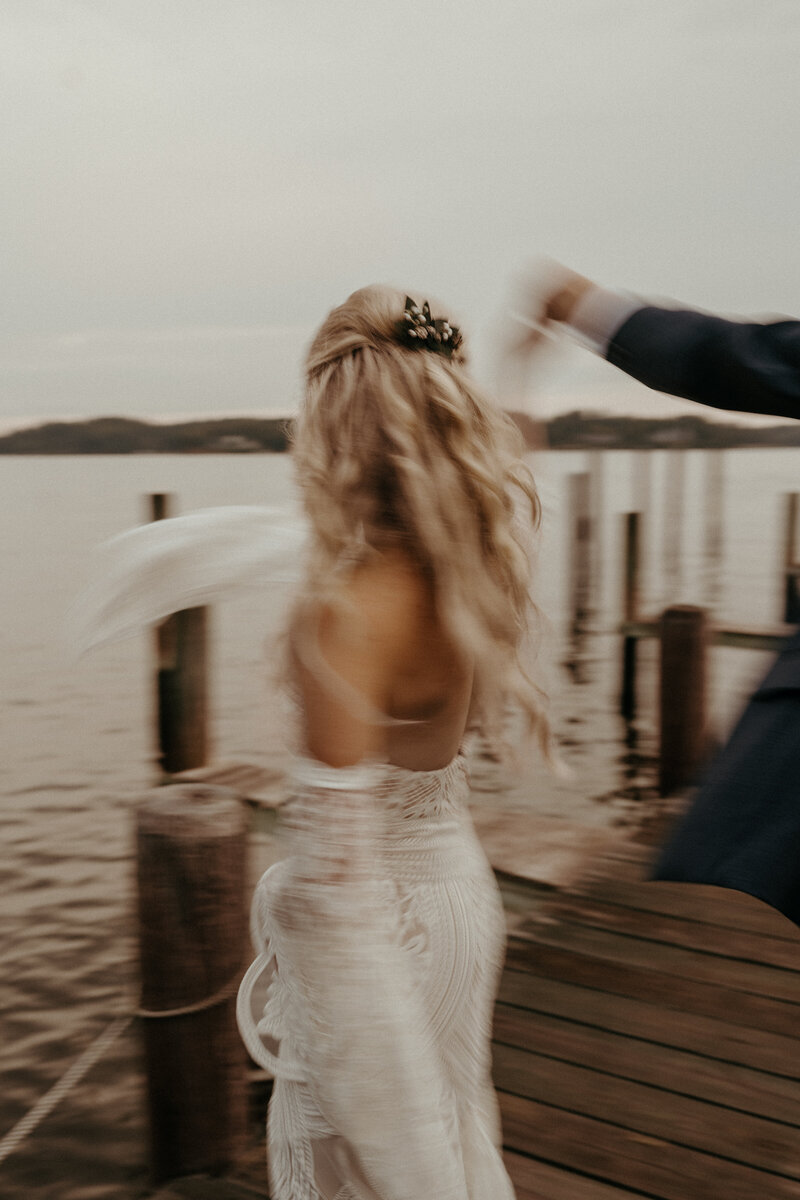 Unique Blurry Wedding Photography