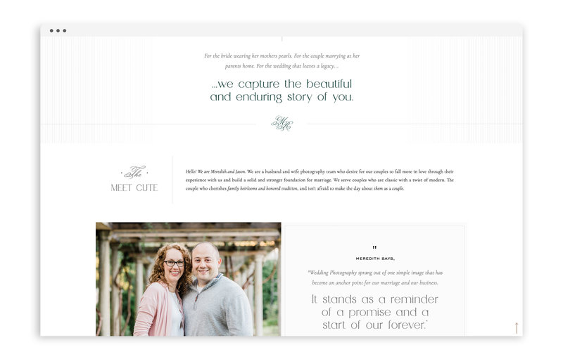 Meredith Ryncarz Photography - Custom Brand and Showit Web Design Website by With Grace and Gold - 22