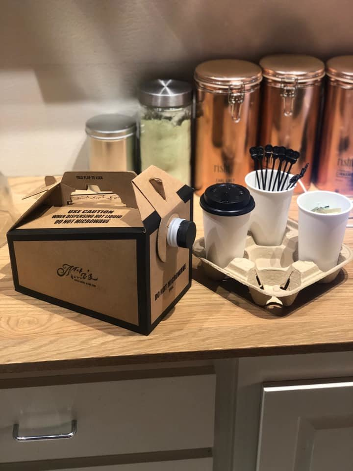 coffee caddy