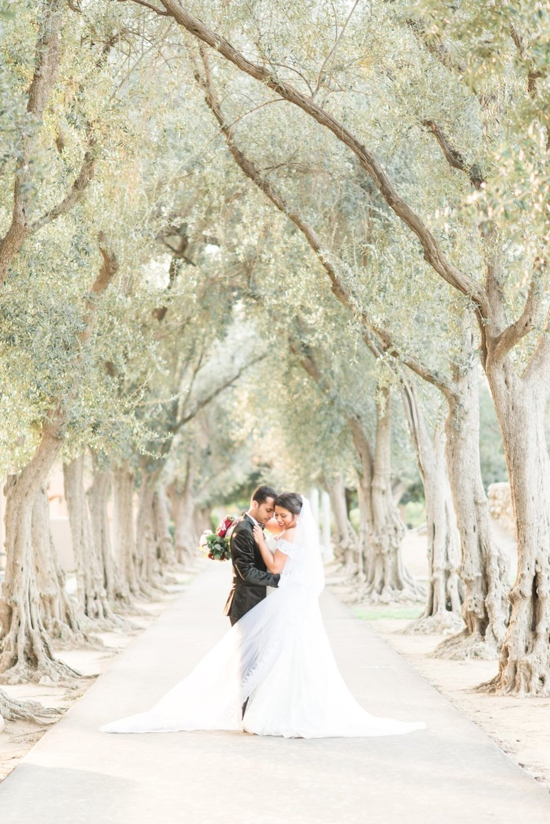 Downtown Los Angeles Romantic Wedding