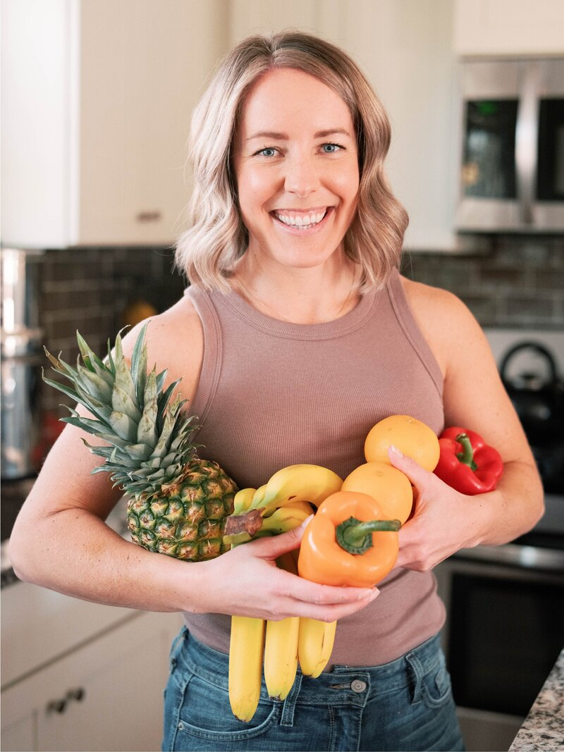 Ashley Kitchens is a vegan nutrition coach for women transitioning to a plant-based lifestyle.
