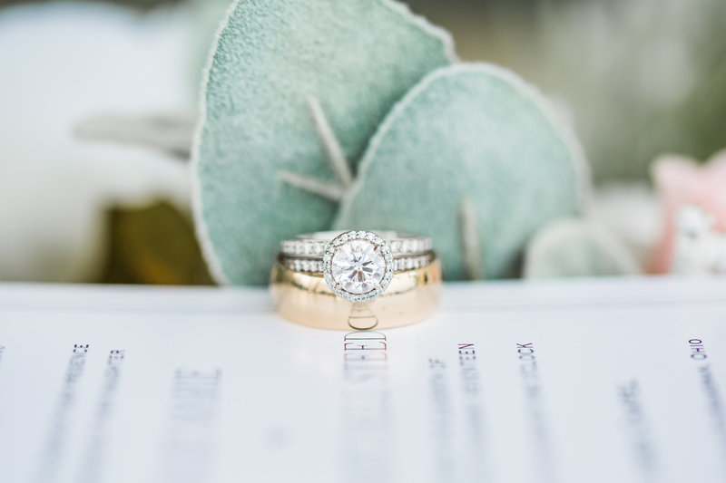 Salem Ohio Wedding Ring and Golf Club