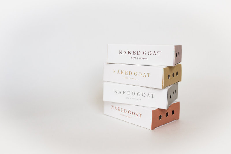 Soap packaging design and branding