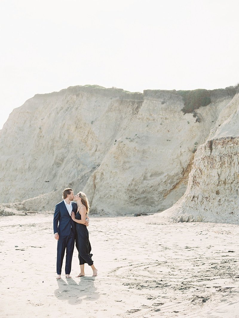 california-beach-engagement-session