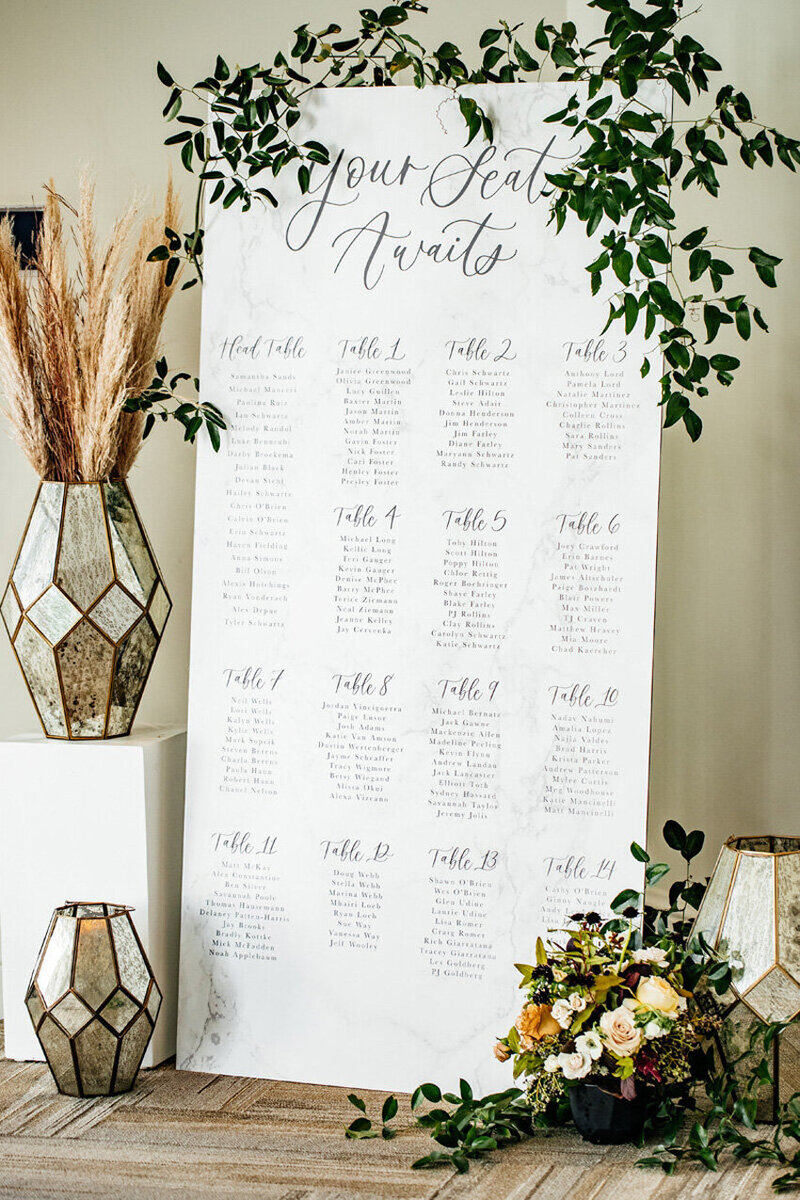 pirouettepaper.com | Wedding Stationery, Signage and Invitations | Pirouette Paper Company | Seating Charts 77