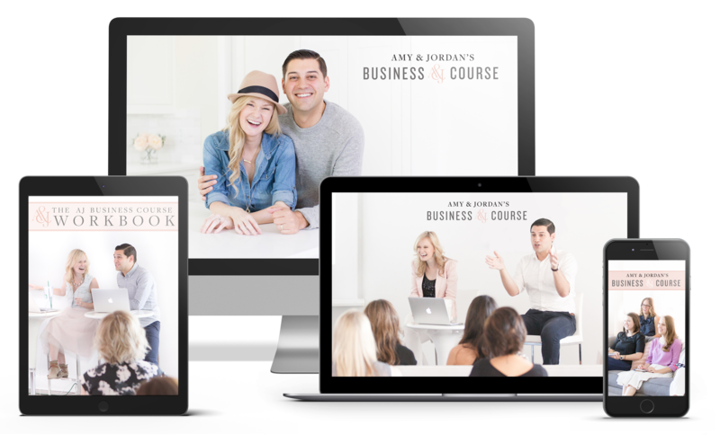 Amy & Jordan's online photography course on business | Business Course