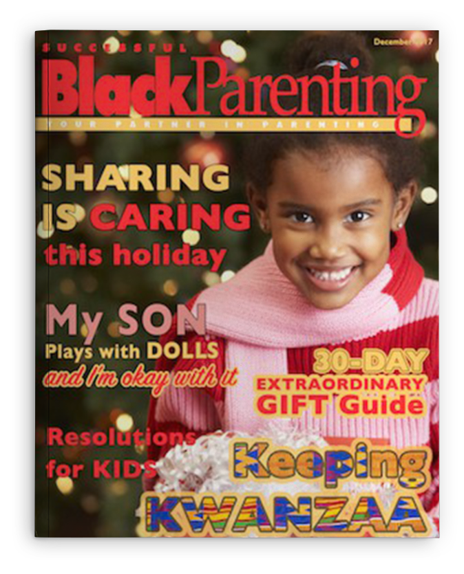 Successful Black Parenting - DEC 2017 Magazine Cover