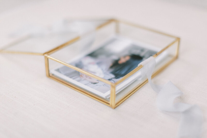 DC Fine Art Photographer prints in gold box