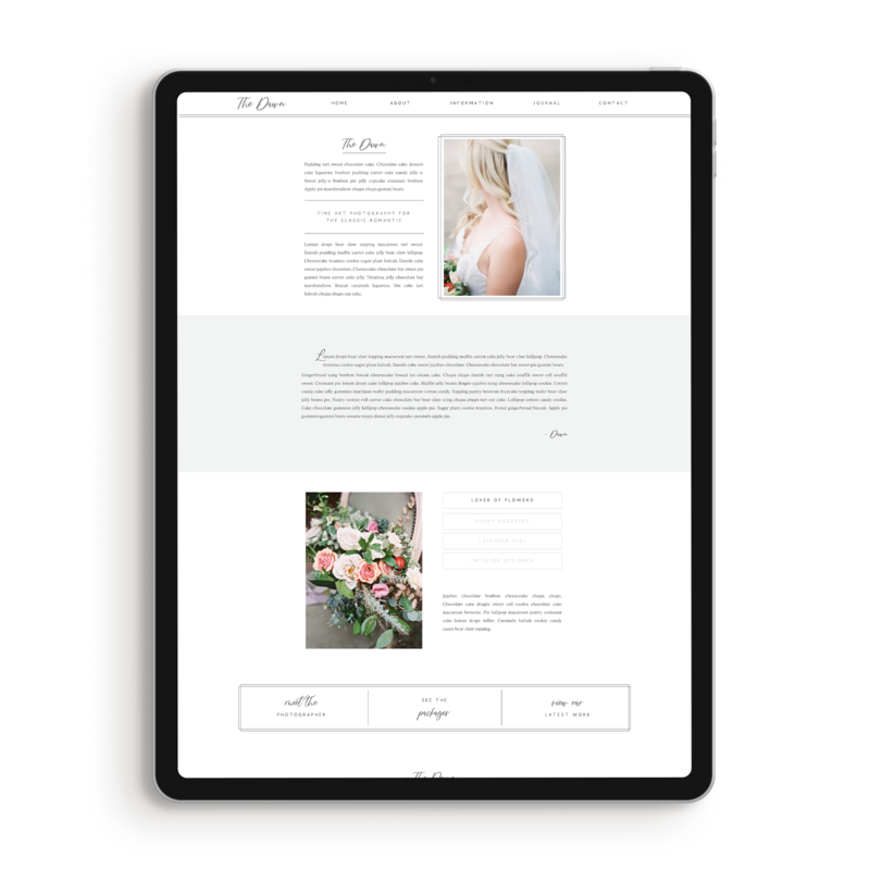 dawn-about-page-showit-template