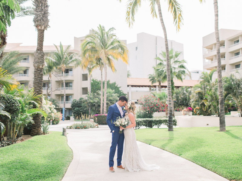 Summer wedding at the Barcelo Gran Faro Resort in Los Cabos , Mexico