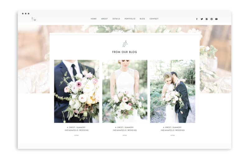 Jessica Dum Wedding Coordination - With Grace and Gold - Logo Design, Stationery Design, and Web Design - Photo - 2