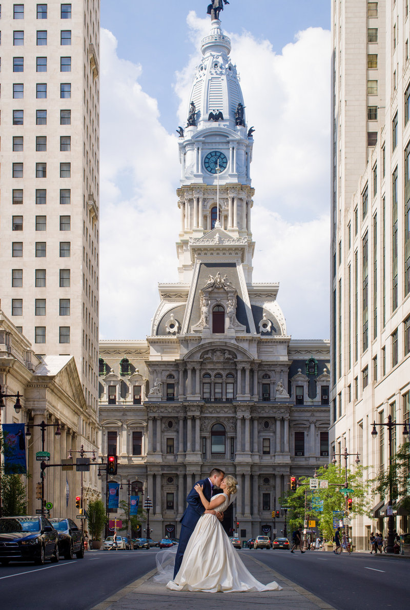 Famous Broad Street Wedding Photo