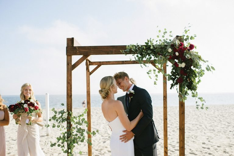 Cape Wedding Arch On the Beach