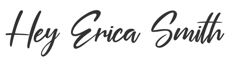Hey Erica Smith Logo