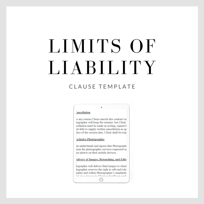 Limits of Liability Clause