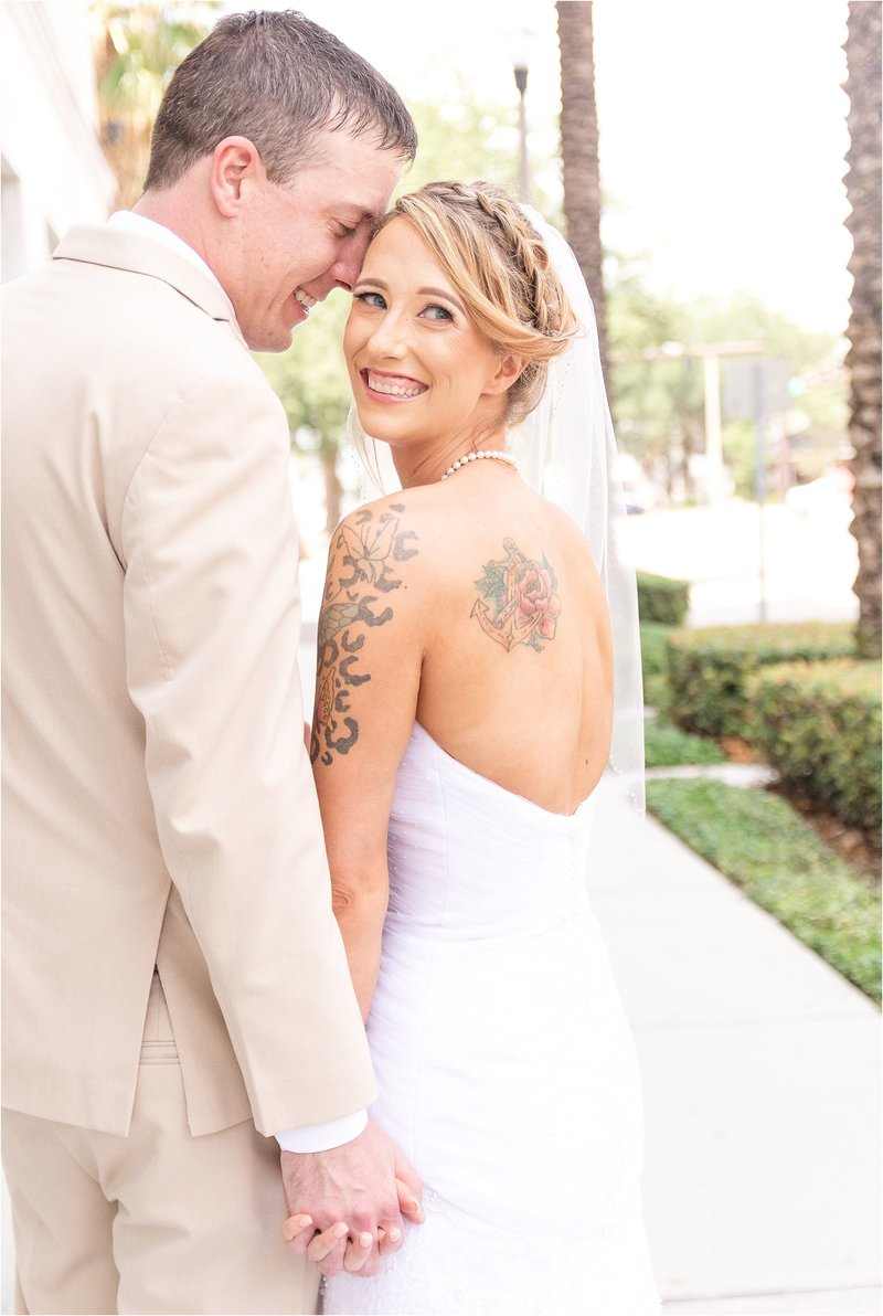 orlando wedding photographer bride and groom photo