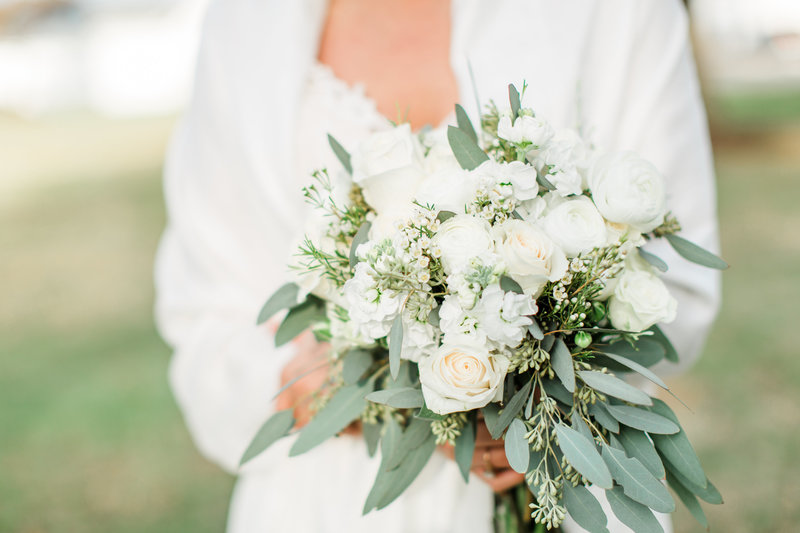 Bridal Bouquet Portraits Bride