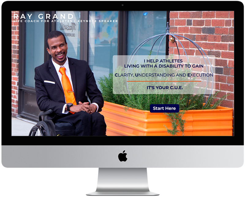 Ray Grand gets his brand and online presence transformed.