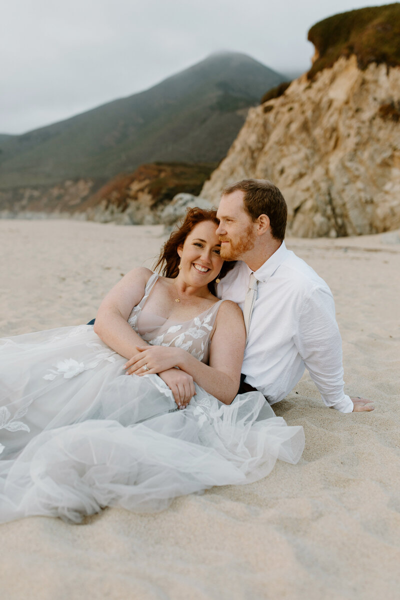 Laura & Harrison - Big Sur Elopement - Tess Laureen Photography @tesslaureen - 9922
