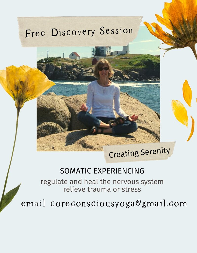 Creating Serenity Somatic Experiencing Offer