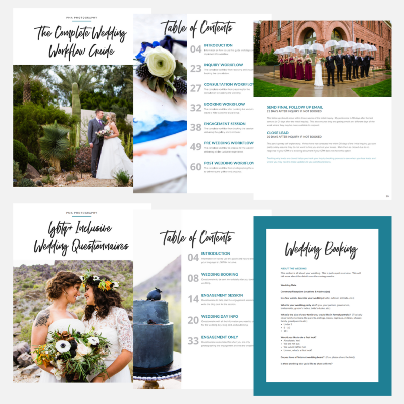 Ultimate Wedding Photographer Bundle - Pages 1