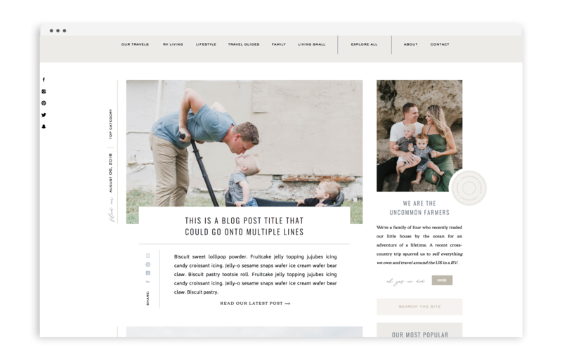 Uncommon Farmer - Brand and Showit Web Design by With Grace and Gold - Photo - 2