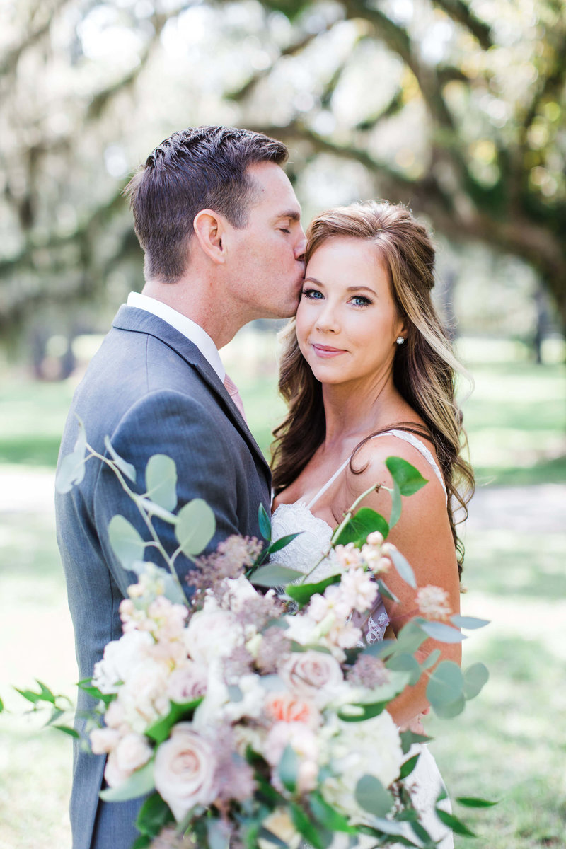 Erica and Dave's wedding at Rosehill Mansion in Bluffton by Apt. B Photography