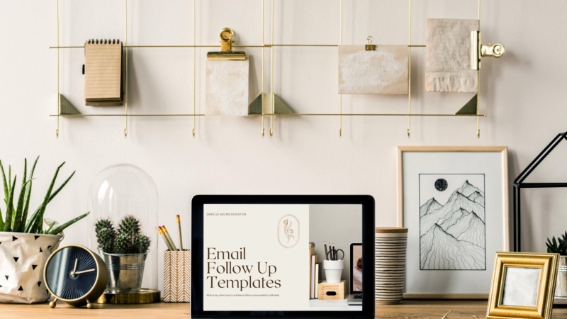 Email templates for photographers and creatives