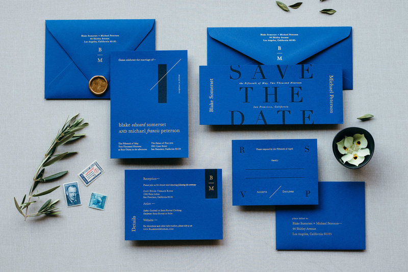 Midnight Gala Semi-Custom Invitation Suite Collection