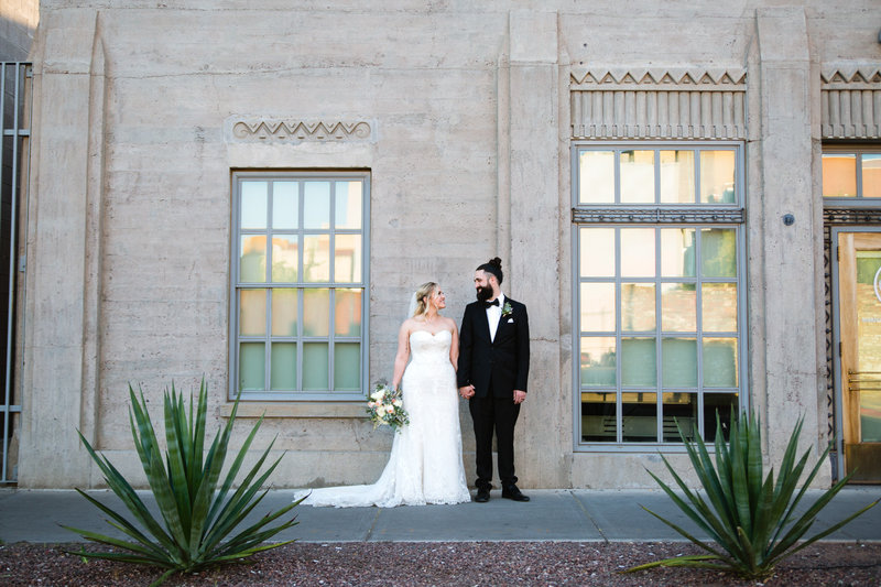 Ice House Downtown Phoenix Wedding | PMA Photography