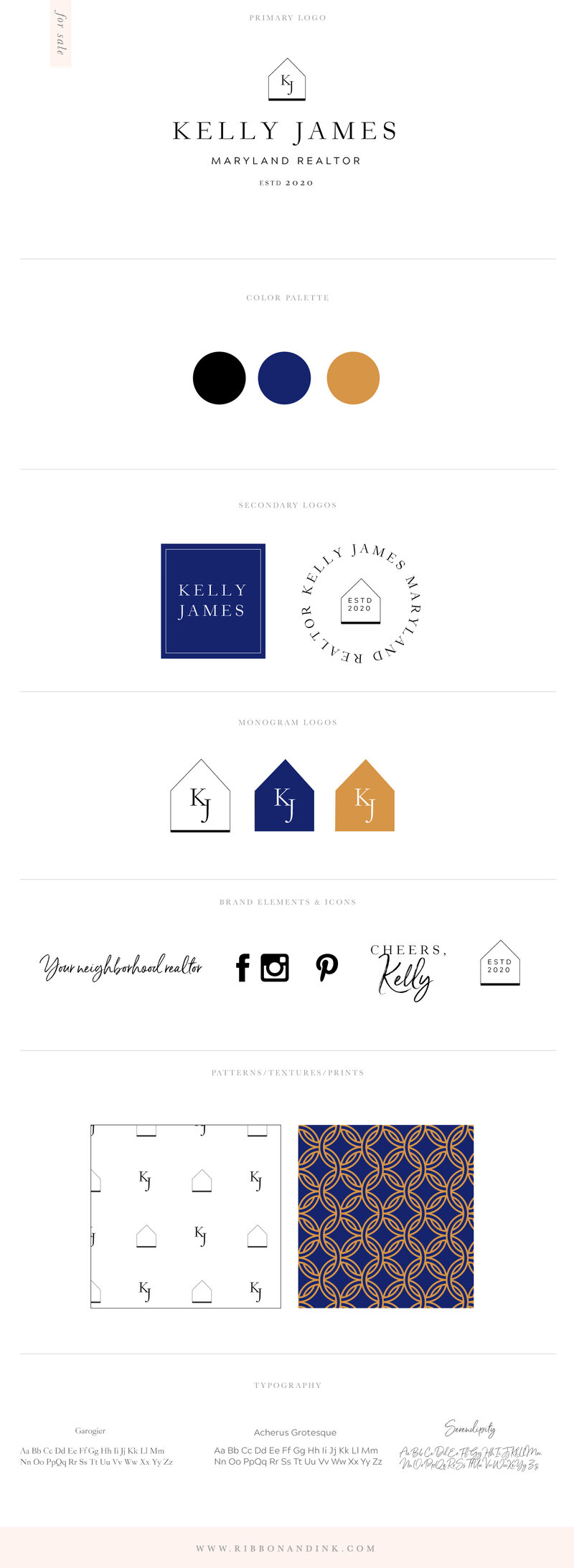 branding-for-realtors-logo-kit-brand-identity-board-for-creatives-wedding-businesses-Kelly_Realtor_BrandBoard_v01