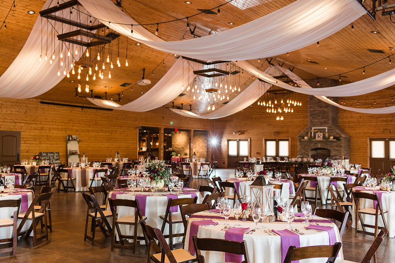 Wedding-Inspiration-Reception-Kentucky-Barn-Lights-Fall-Purple-Photo-by-Uniquely-His-Photography03