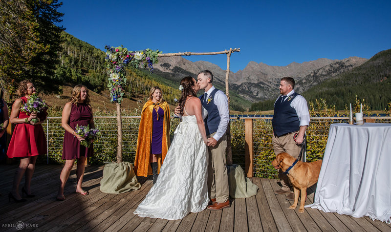 Bright and Sunny Colorado Wedding Day at Piney River Ranch