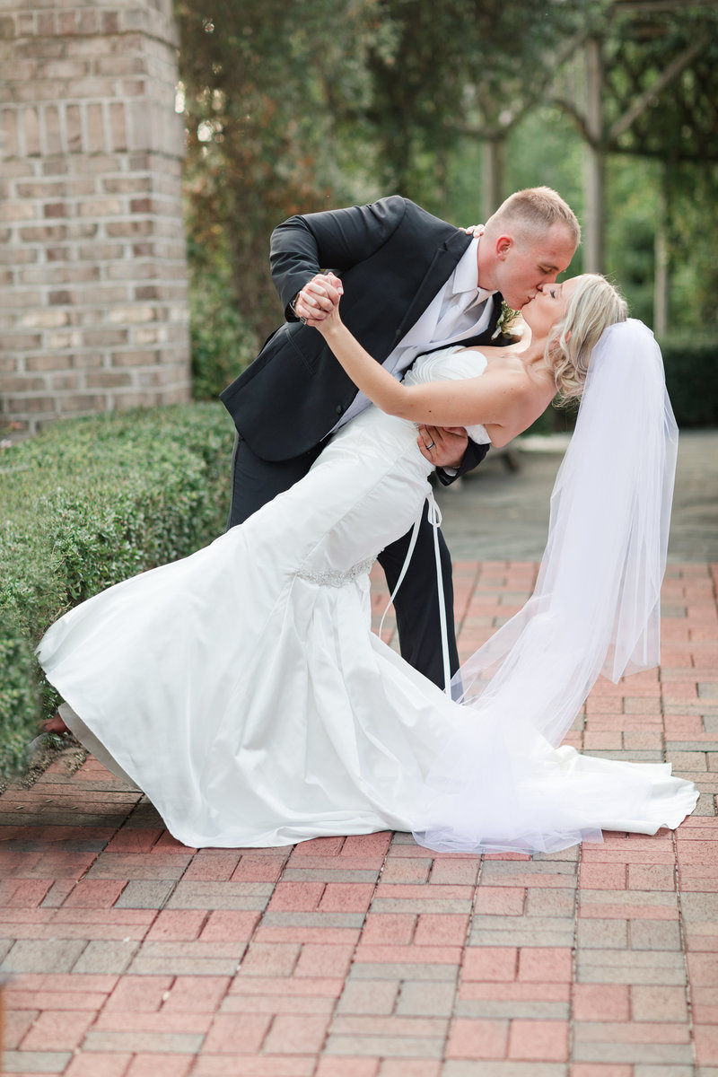 Jennifer B Photography-Wedding Day-Pinehurst Arboretum-Pinehurst NC-Kellen and Lynsi44