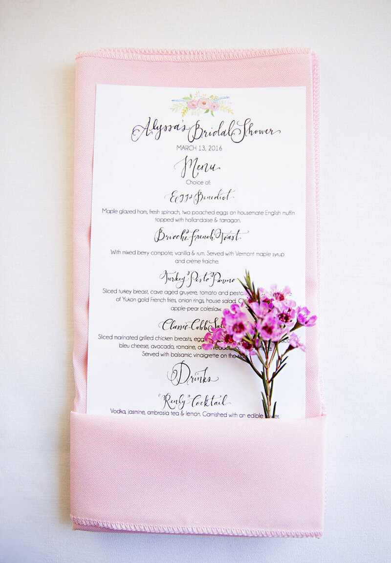 pirouettepaper.com | Wedding Stationery, Signage and Invitations | Pirouette Paper Company | Menus + Programs 49
